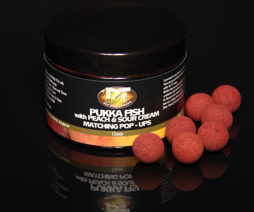 Pukka Fish Peach and Sour Cream Pop Ups 15mm