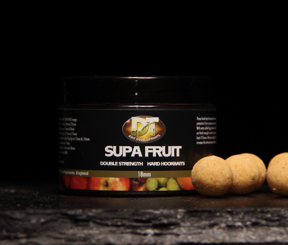 Supa Fruit Hard Hook Baits 15mm